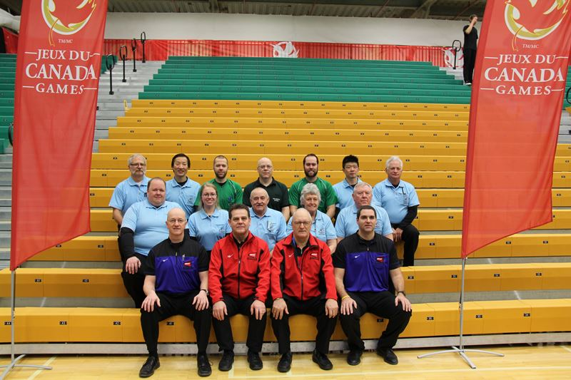 Officials for Canada Winter Games