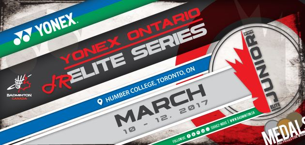 2017 Yonex Ontario Junior Elite Series