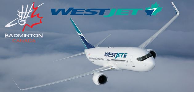 Badminton Canada Extends Partnership with WestJet Airlines