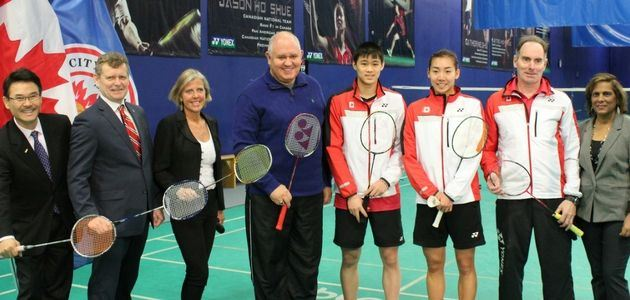Markham to host 2018 World Junior Badminton Championships