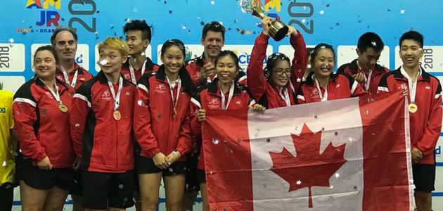 Team Canada Wins Gold at the 2018 Pan Am Junior Championships