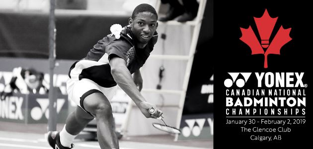 The 2019 Yonex Canadian National Championships are HERE!