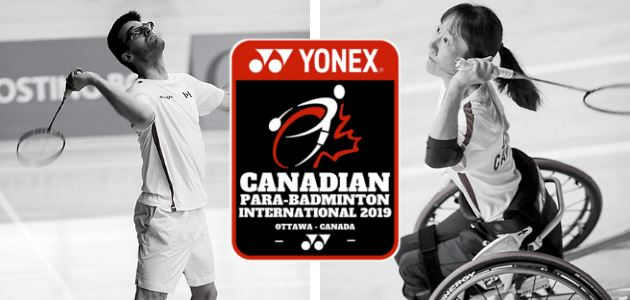 The Yonex Para-Badminton Canadian International 2019 is coming to Ottawa!