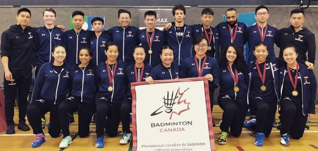 2019 Yonex Canadian University & College Team/Individual Championships