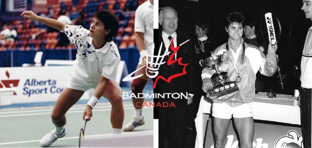 Denyse Julien Inducted into the Badminton Canada Hall of Fame
