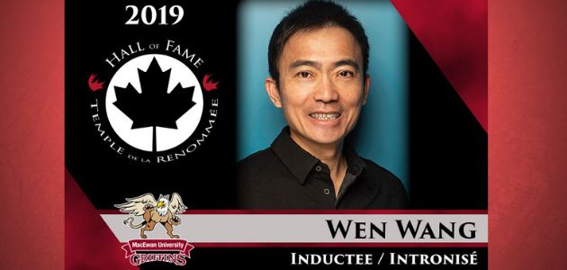 2019 CCAA Hall of Fame Inductee: Wen Wang