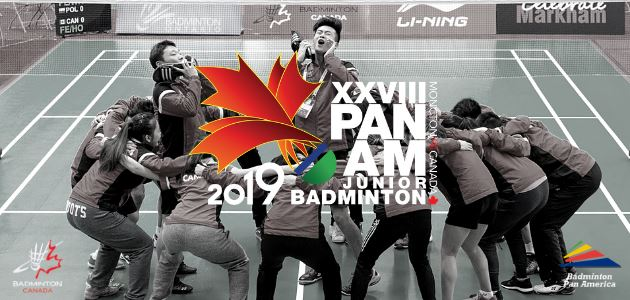 The XXVII Pan American Junior Championships 2019 are HERE