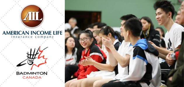 Badminton Canada Partners with American Income Life