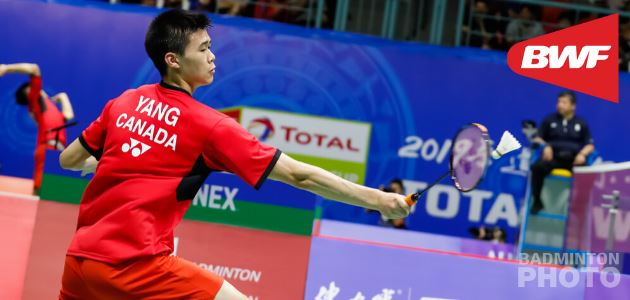 Brian Yang Ranked 2nd in BWF World Junior Ranking