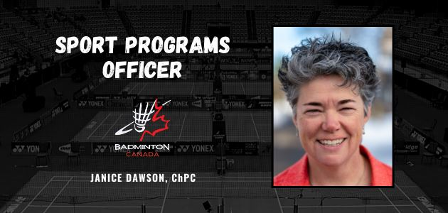 Badminton Canada Welcomes a New Sport Programs Officer